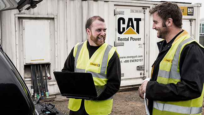 cat industrial site photography