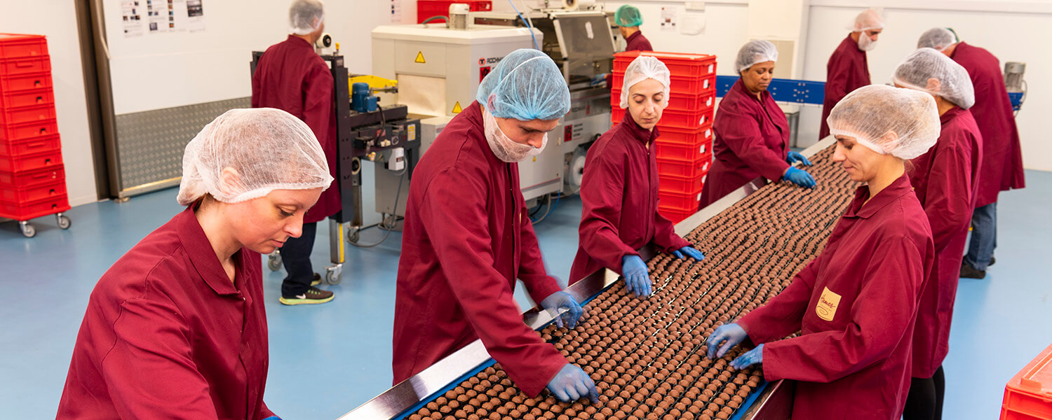 hermes chocolate factory linconshire photo
